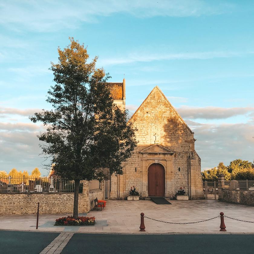 Benouville Normandy Church