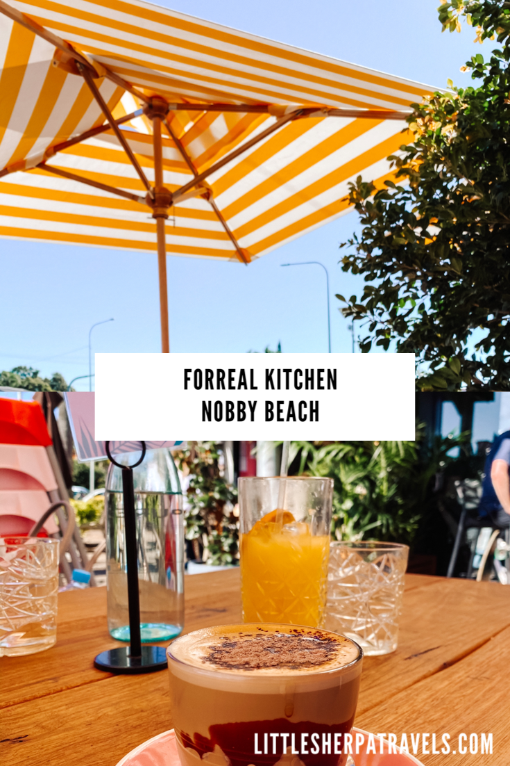 Forreal Kitchen Cafe, Nobby Beach, Gold Coast