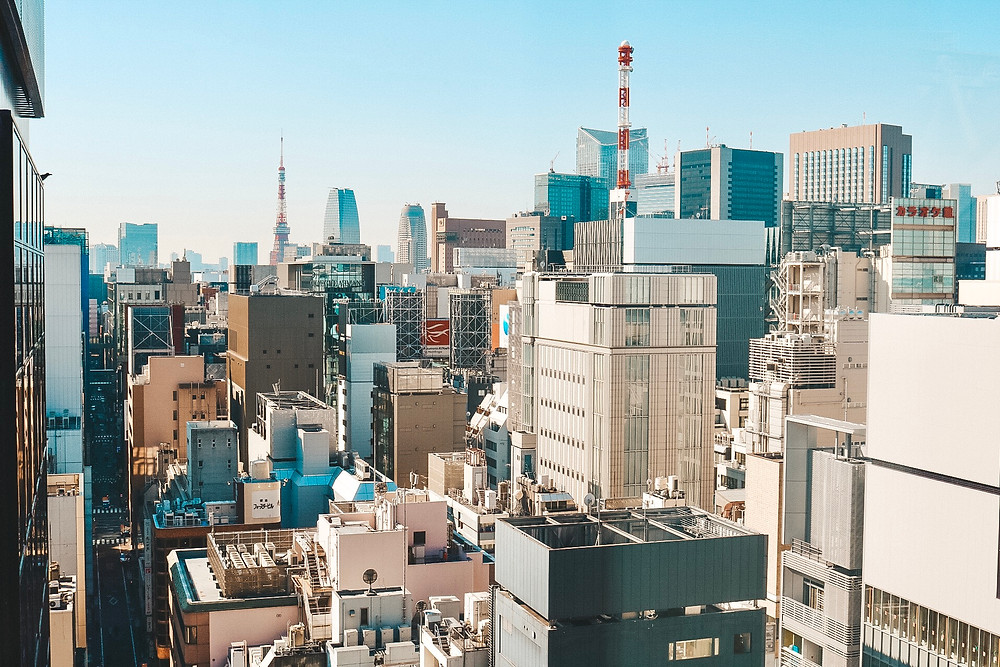 Ginza Tokyo japan travel guide travel blog bills cafe