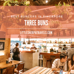 Best Burgers in Singapore: Three Buns Quayside