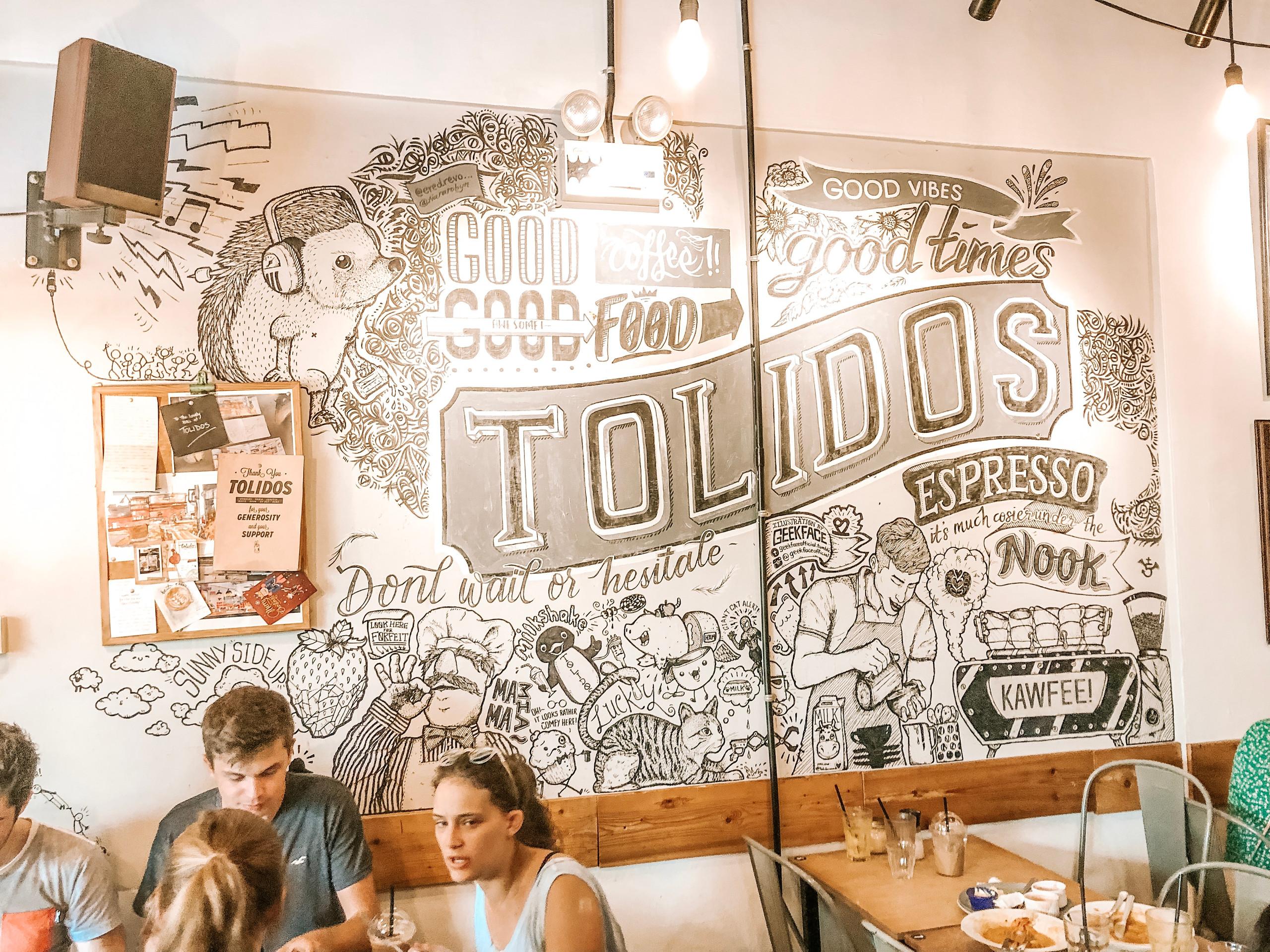 Tolido;s Espresso Nook Singapore best brunch coffee