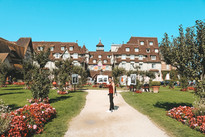 Deauville Normandy Fraance hotel american film festival