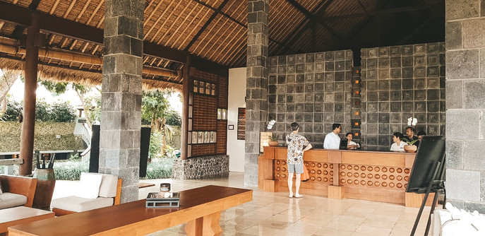 Alila Hotel Ubud where to stay travel guide reception