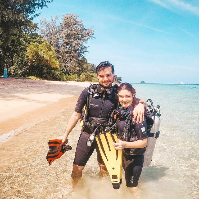 Tioman Island Malaysia learn to dive