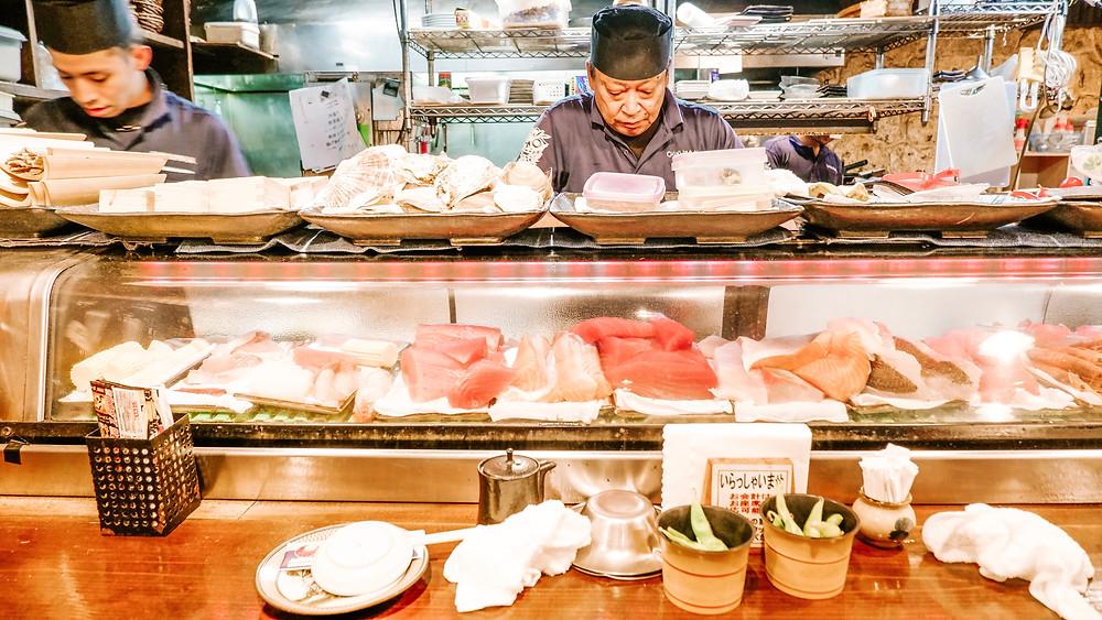 Seafood Sashimi Okinawa