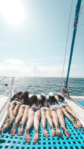 Bali Boat hire hens party photographer