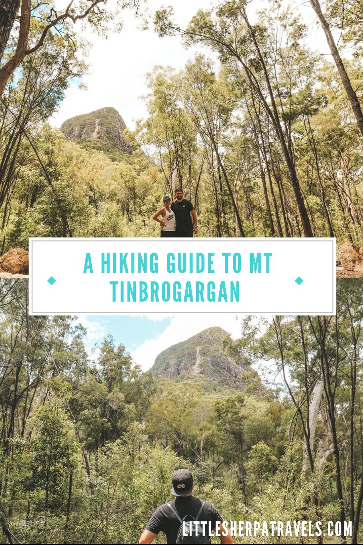 Mount Tibrogargan Circuit trail lookout, Glass House Mountains Walking Guide