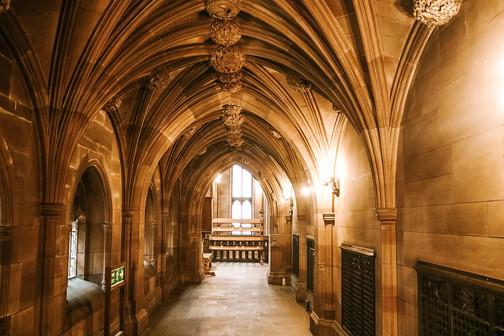 John Rlyands Library manchester hallway