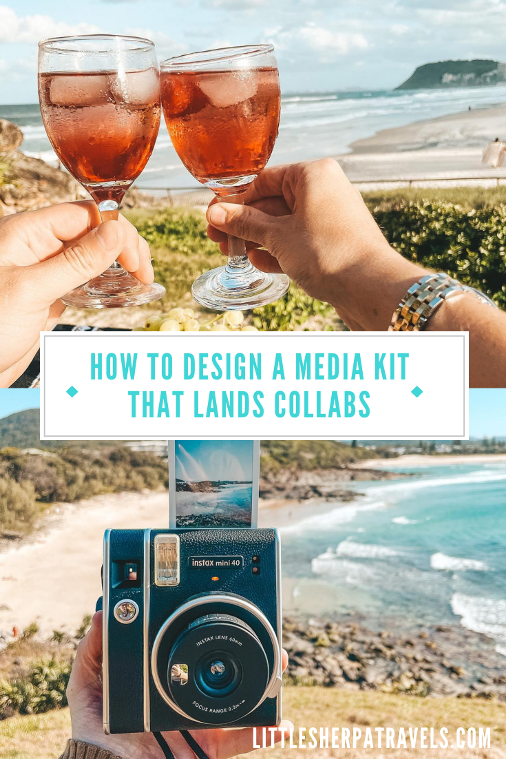 How to Design an influencer media kit in 2021 that lands brand collaborations