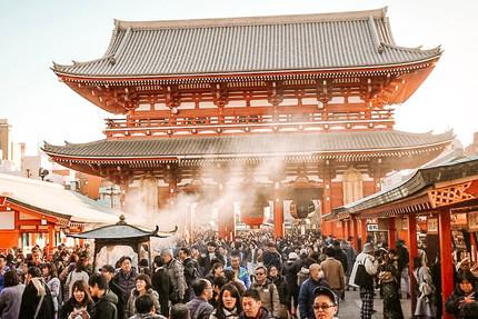 Sensoji temple askausa tokyo japan best temple travel guide travel blog