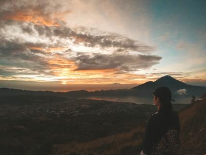 Sunrise Hike Mt Batur Volcano Ubud Bali Indonesia