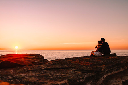 Gantheaume Point sunset Broome Western Australia