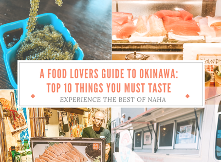 The top 10 Must try local foods in Okinawa