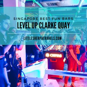 Singapore's retro arcade game bar: Level Up Clarke Quay