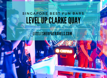 Singapore's retro arcade game bar: Level Up Clarke Quay