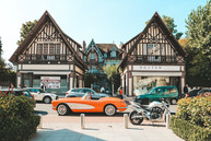 Deauville Normandy France luxury car