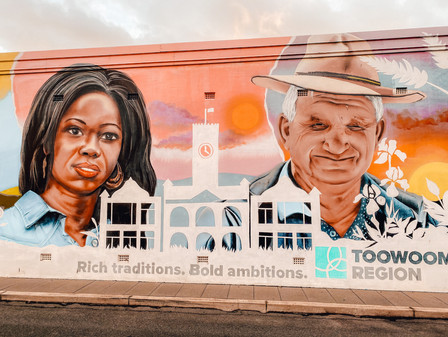 street art Toowoomba Region council