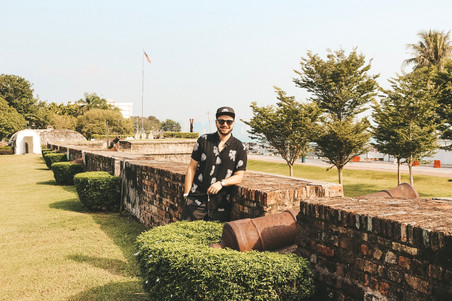 Fort Cornwallis cannons