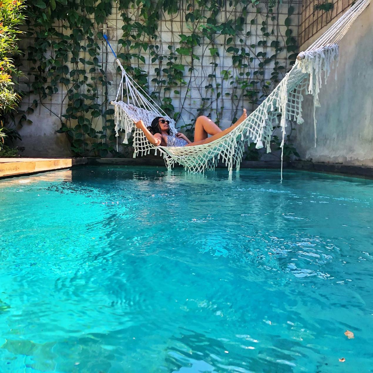Zin Canggu Villa pool