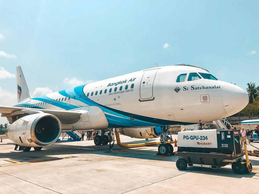 Getting to Koh Samui Thailand from Singapore Bangkok Air
