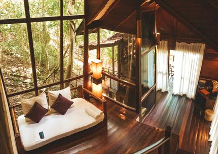 Tioman Island Malaysia Japamala Resort Tree top chalet room
