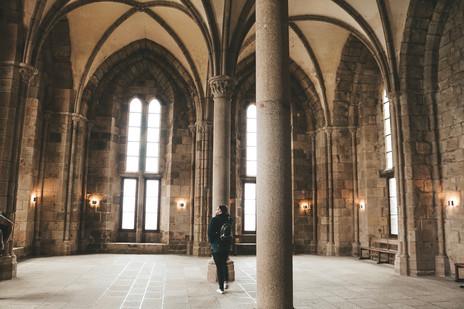 Mont Saint Michel Normandy France Abbey