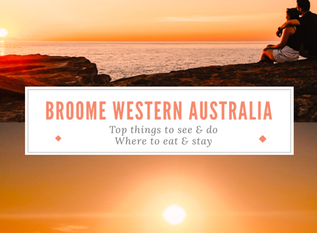 THE ABSOLUTE TOP things to see & do in Broome Western Australia in a long weekend: