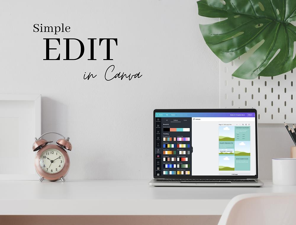 Customise your Media Kit in Canva