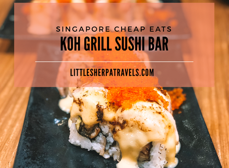 Singapore cheap and delicious eats: Koh Grill Sushi Bar