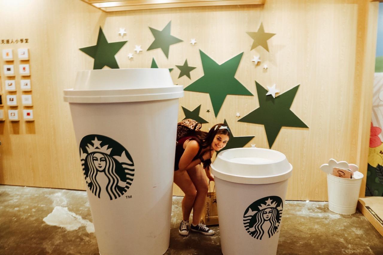 Huashan Creative Park taipei Taiwan Starbucks