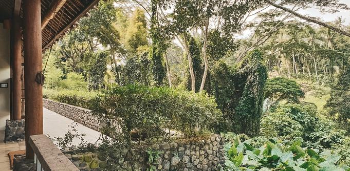 Alila Hotel Ubud where to stay travel guide bali indonesia garden