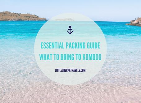Essential Packing Guide, Komodo National Park, Flores, Indonesia