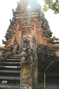 Sara Swati temple Ubud Palace Bali