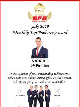 ERA DFG July Award