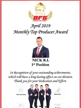 ERA DFG April Award