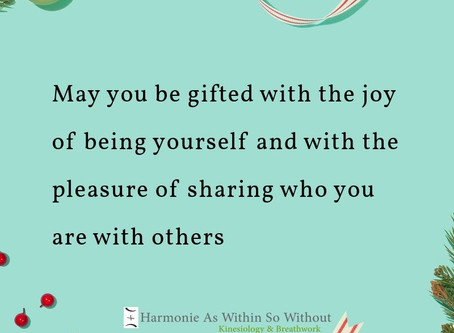 The joy of being you