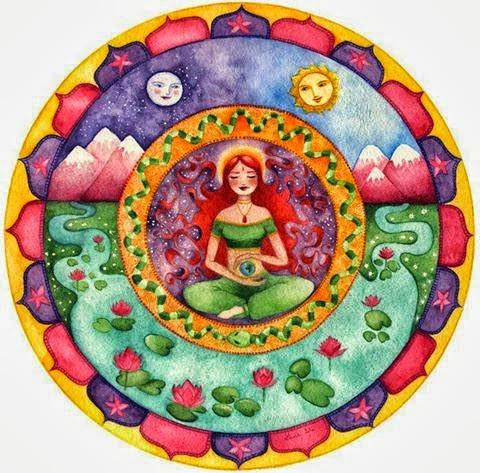 The theme:  Reverence for the sacred feminine