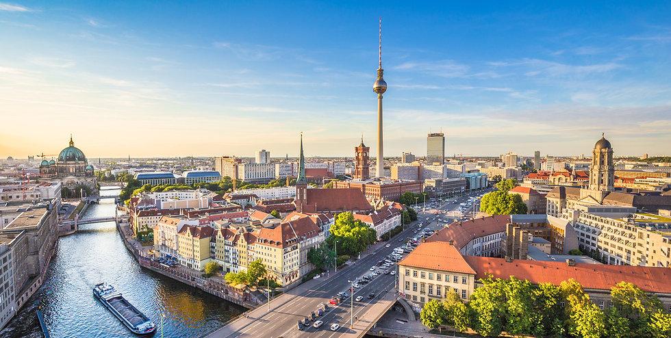 berlin skylinepanorama with tv tower and
