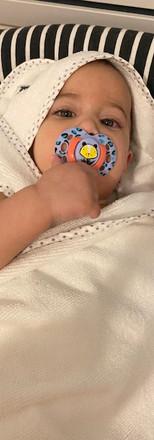 מגבת לתינוק של ציפי דבש