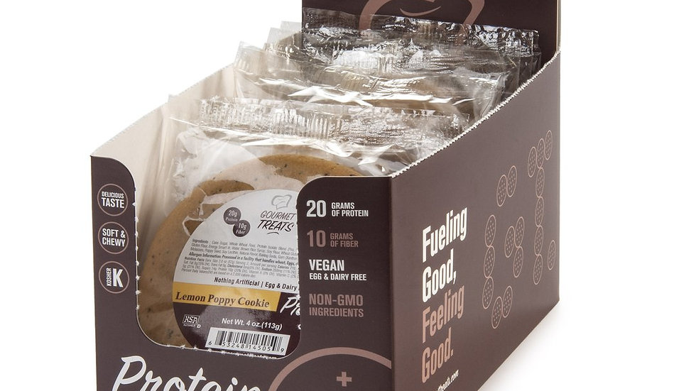 Gourmet Treats Vegan Peanut Butter Protein Cookie