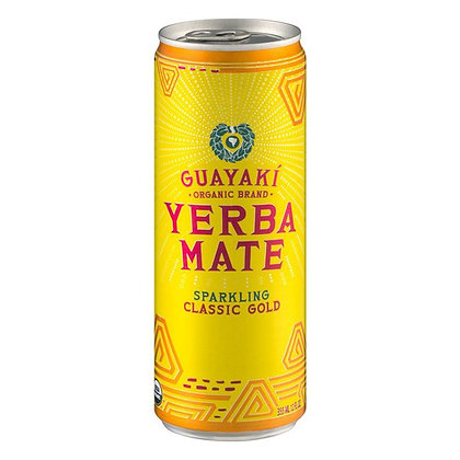 Yerba Mate Sparkling Gold - Case