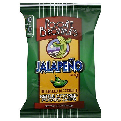 Poore Brothers Jalapeño Kettle Chips