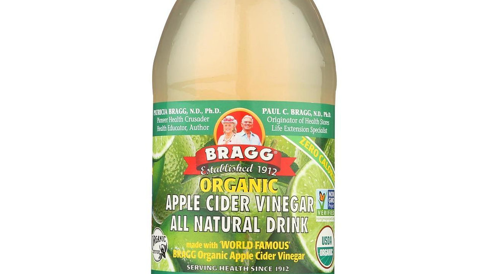 Bragg Organic Apple Cider Vinegar Limeade