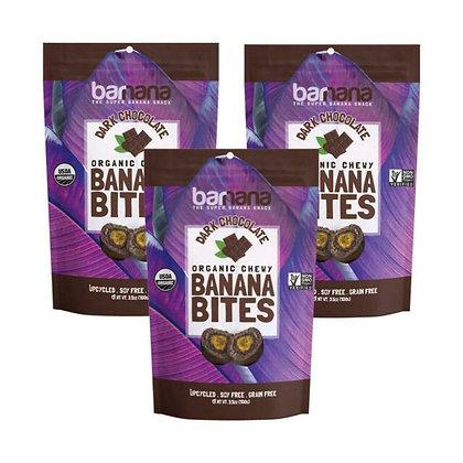 Barnana Dark Chocolate Banana Bites