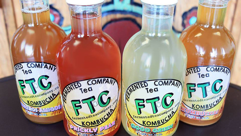 FTC Kombucha - Prickly Pear