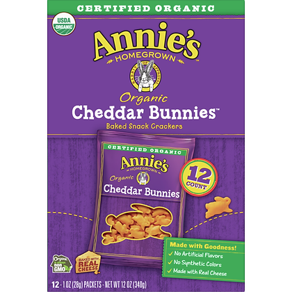 Annie's Cheddar Bunnies - Organic