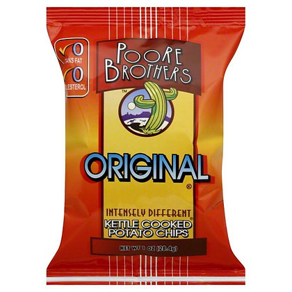Poore Brothers Original Kettle Chips