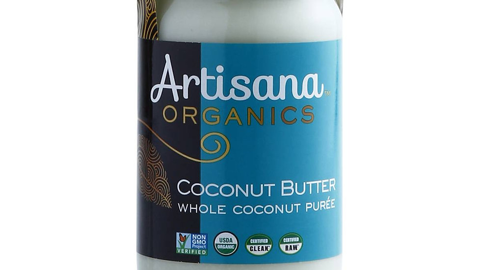 Coconut Butter Raw - Organic