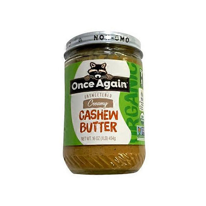 Once Again Cashew Butter - Organic