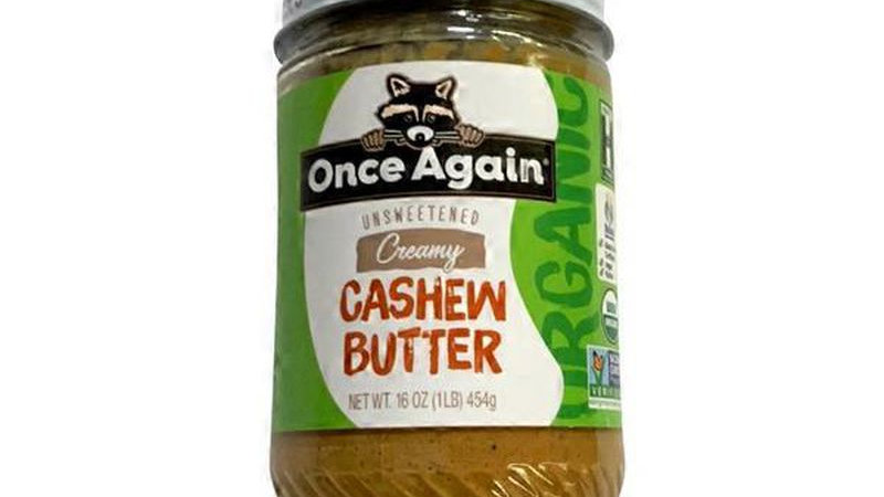 Once Again Cashew Butter - Organic